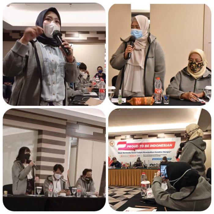 sesi diskusi gathering netizen semarang & MPR RI